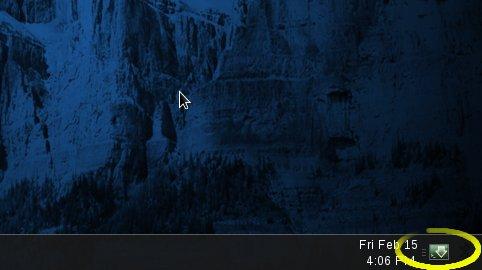 Linux DescentOS 3 Mate Open Guake Terminal