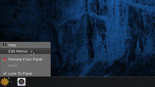 Linux DescentOS 3 Mate Edit Main Menu