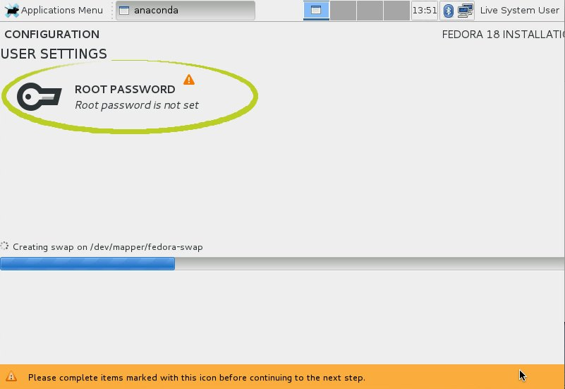 Ubuntu Linux Installation - User SetUp