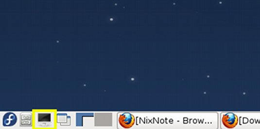 Fedora Linux17 Lxde Open Terminal