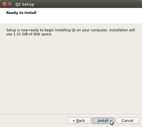 How to Install QT5 and Qt Creator on PCLinuxOS - start installation