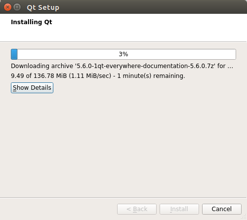 QT5 Quick Start for Kubuntu 17.04 Zesty - installing