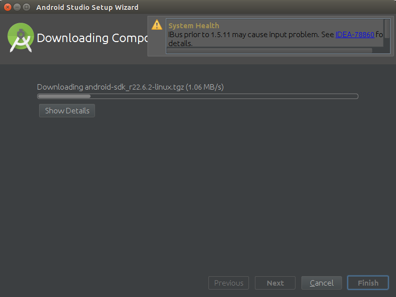 How to Properly Make the First, SetUp on Android Studio IDE for Linux - Installing
