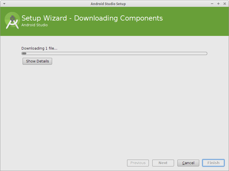 Android Studio IDE App Getting-Started Guide - download install components