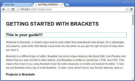 Brackets Lubuntu 18.04 Installation Guide - live preview working on Chrome