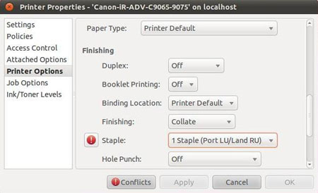 Printer Canon LBP251dw/LBP252dw Driver for Linux Mint - CQue GUI