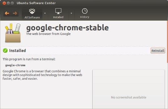 Install Google-Chrome on Ubuntu GNOME 16.04 - Ubuntu GNOME Chrome Installed