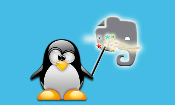 Magic-Penguin Debian Evernote
