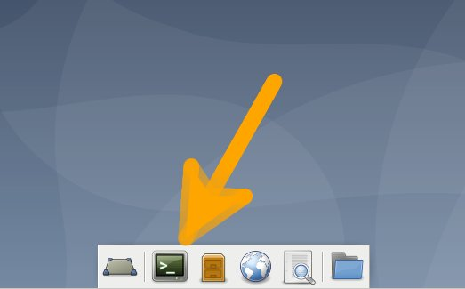 GNU/Linux Debian Xfce Add Printer - Open Terminal Shell Emulator