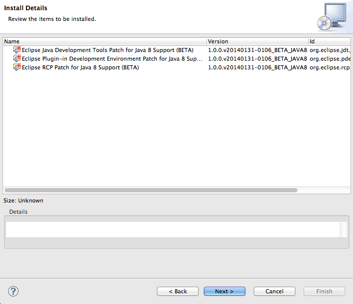 Enabling Eclipse Java 8 Support - Eclipse 2021-03 R IDE Install Java 8 Support 2