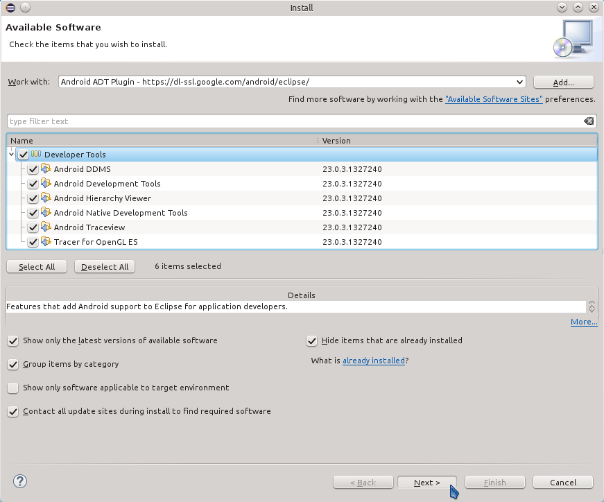 Eclipse 2020-09 R IDE Install Plugin - Eclipse Select Stuff to be Installed