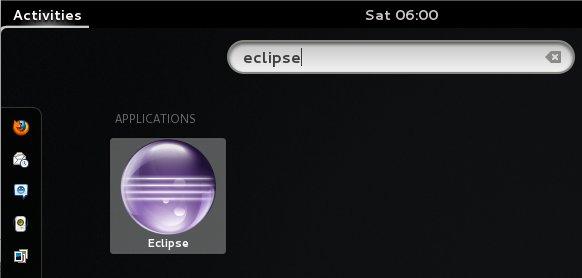 Gnome3 Eclipse Launcher