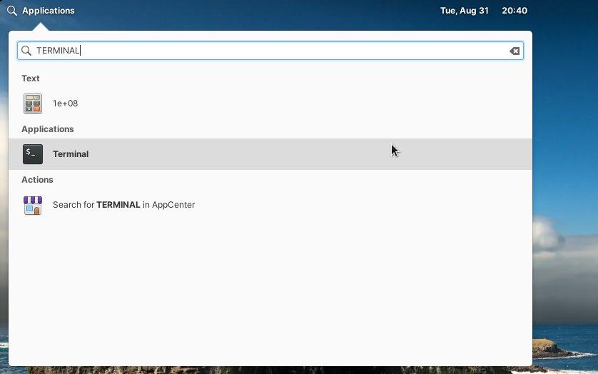 Step-by-step Realtek rtl8814AU Driver Elementary OS Linux Installation - Open Terminal Shell Emulator