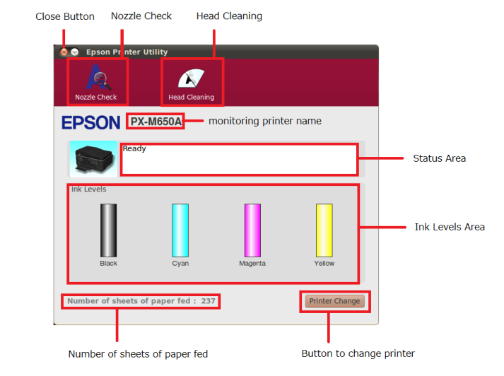 How to Install the Epson WF-2630/WF-2650/WF-2660 Printer on Red Hat - Epson Printer Utility