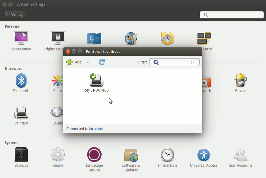 Printer Canon MG5440/MG5450 Driver for Linux Mint 18 How to Download and Install - Linux Mint System Settings Printers