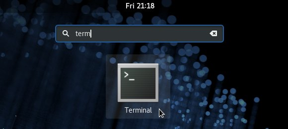 Install Android SDK Tools for Fedora - Cinnamon Open Terminal
