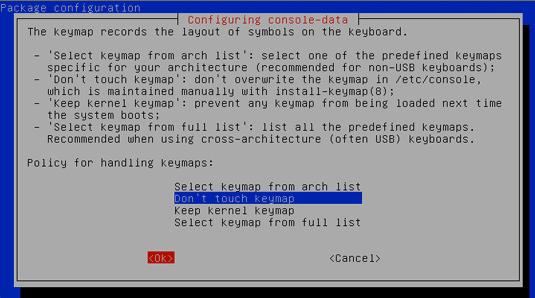 Partioning Windows 8 Disk - Don't Touck KeyMap