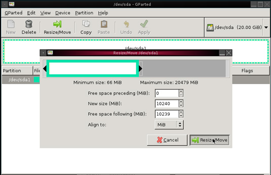 Partioning Windows 8 Disk - Resize/Move