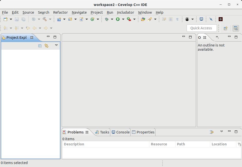 How to Install Cevelop in Kubuntu 18.04 Bionic LTS - UI