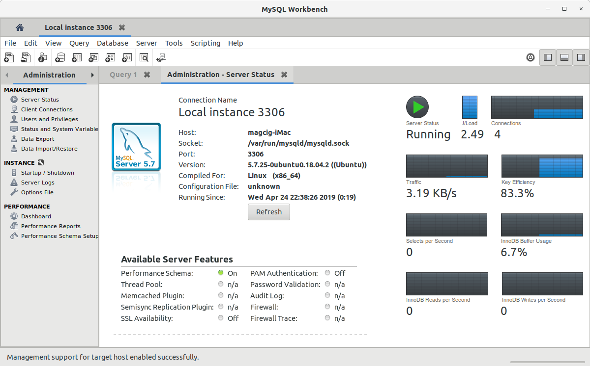 How to Install MySQL Workbench in Lubuntu - UI