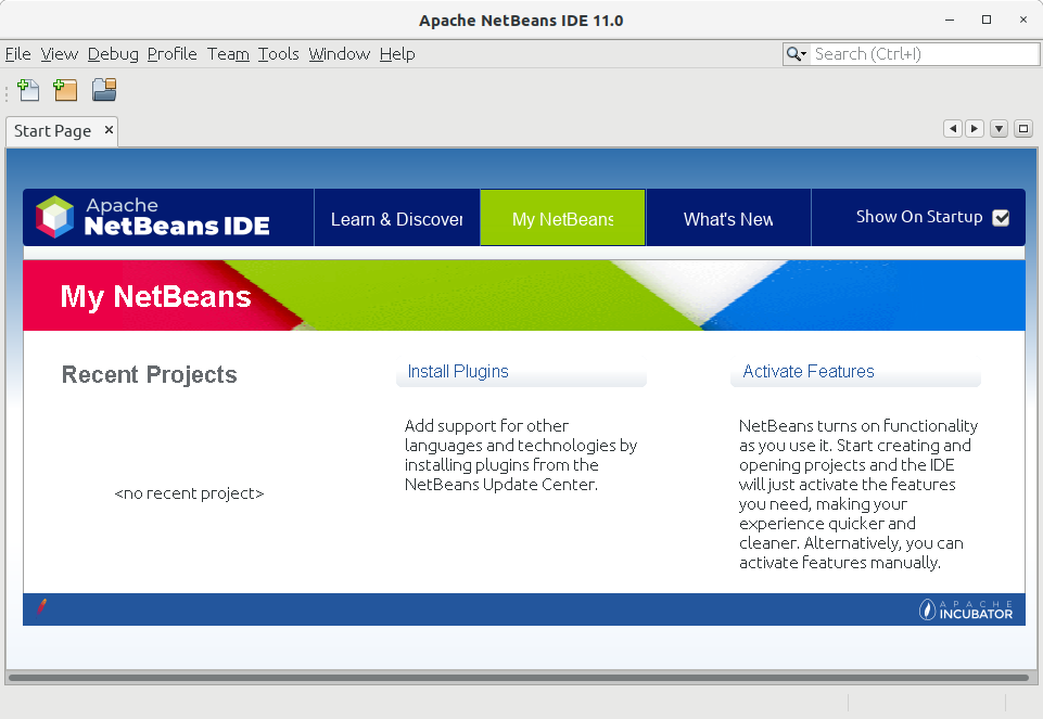 How to Install NetBeans 11 on Fedora 29 - UI
