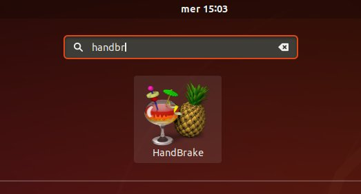 How to Install HandBrake on Linux Lite LTS - Launcher