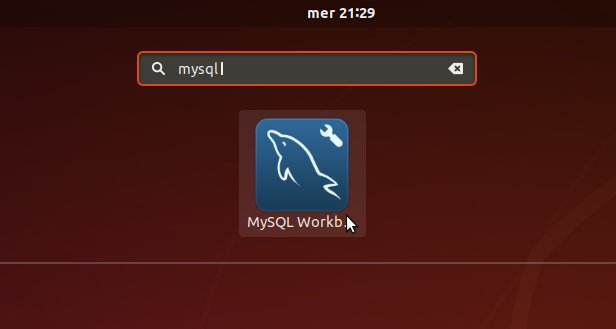 How to Install MySQL Workbench in Fedora Rawhide - Launcher