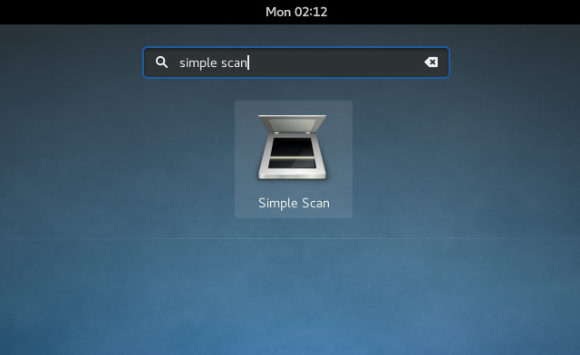 Kali Linux Canon Scanner Quick Start Guide - Simple Scan Gui