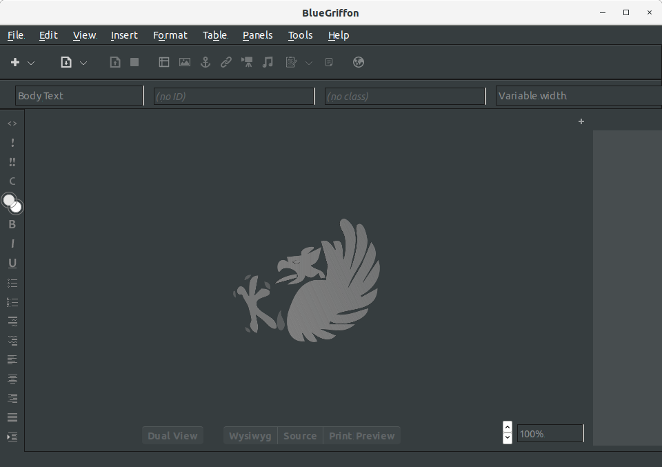 How to Install BlueGriffon in Manjaro - UI