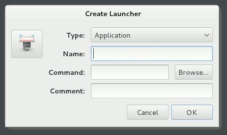 Gnome Create Applications Main Menu Entry 3