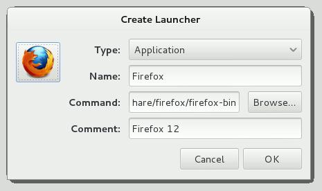 Gnome Create Applications Main Menu Entry 5