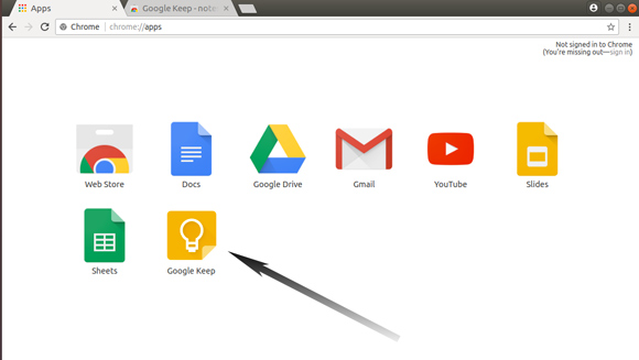 How to Install Google Keep Ubuntu 17.10 Artful - Chrome Google Keep App