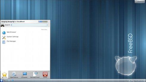 VMware Fusion 4/5 Install FreeeBSD 9.X KDE Desktop - Desktop 2
