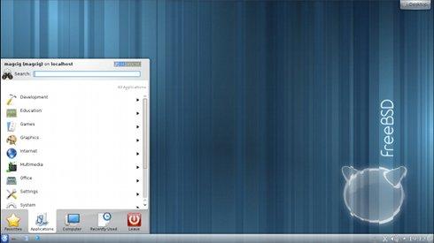 VMware Fusion 4/5 Install FreeeBSD 9.X KDE Desktop - Desktop 3