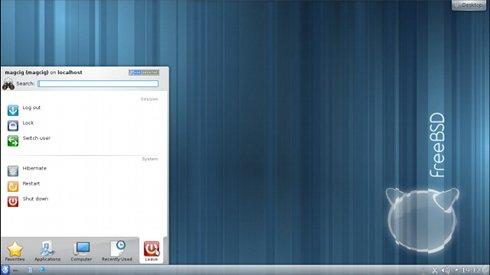 VMware Fusion 4/5 Install FreeeBSD 9.X KDE Desktop - Desktop 4