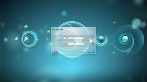 Install FreeBSD 9 KDE 4 Login Screen