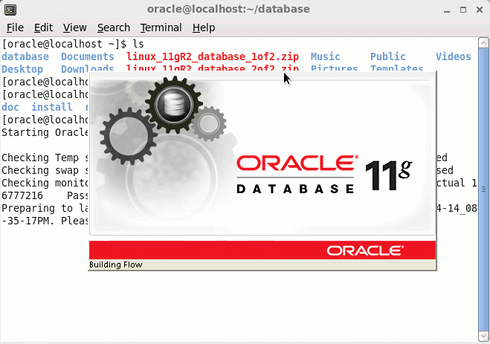 Getting-Started with Oracle 11g Database on Ubuntu 16.10 Yakkety 64-bit - Linux Start Oracle 11g R2 Installation