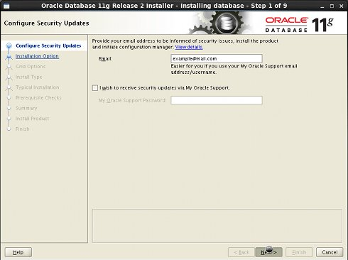 Install Oracle 11g DB on Linux Red Hat 6.x i686/x8664 - Oracle 11g R2 Installation Step 1