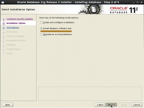 Getting-Started with Oracle 11g Database on Ubuntu 14.04 Trusty LTS 64-bit - Linux Oracle 11g R2 Installation Step 2
