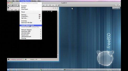 FreeBSD 10 Install VMWare Tools - 2