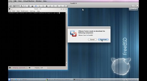 FreeBSD 10 Install VMWare Tools - 3