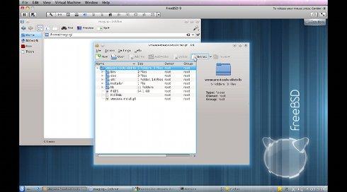 Install VMWare Tools on FreeBSD 9 6