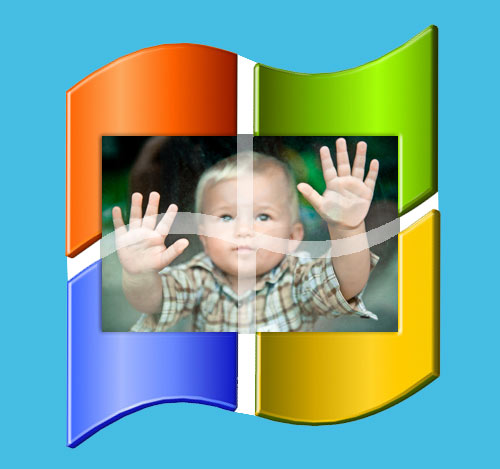 Baby At Windows