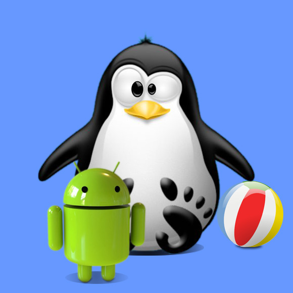 Linux Android Studio IDE Quick Start with Hello World App Example - Featured