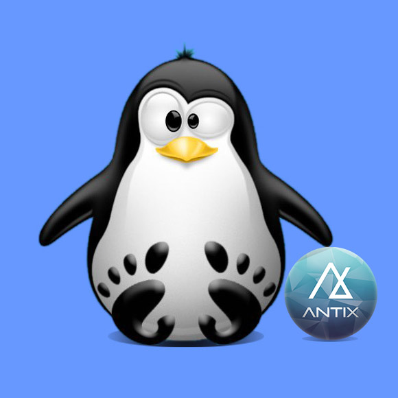 How to Install antiX 17 on VMware Workstation Step by Step - Featured
