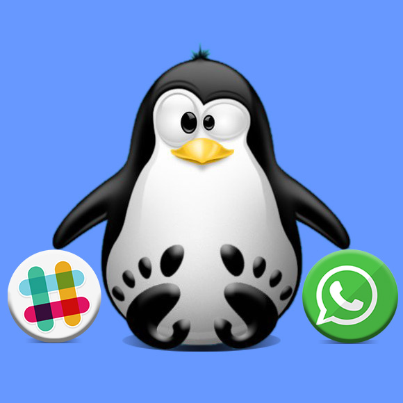 How to Install Slack & WhatsApp in One App in Fedora Rawhide - Featured