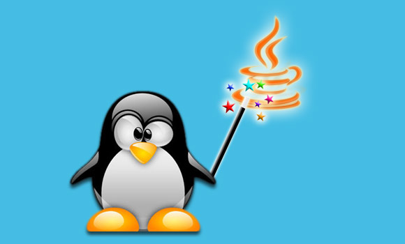 Linux Penguin Magic-Mandriva Java