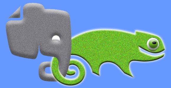 OpenSuse & Evernote