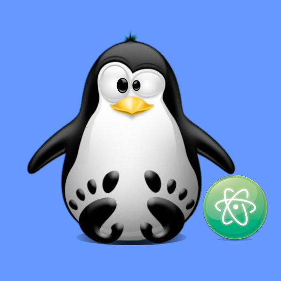 Atom Install Ubuntu 17.10 Artful - Featured