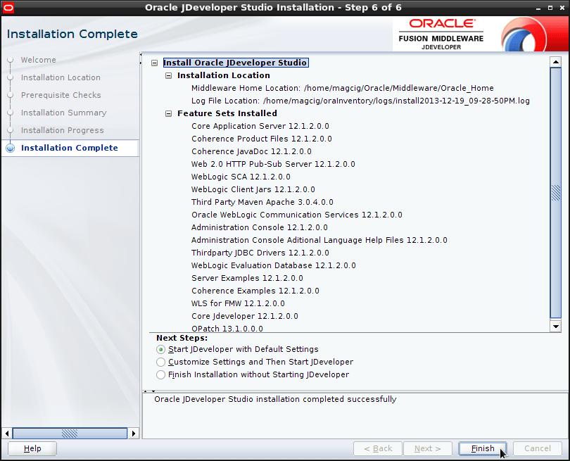 How to Install JDeveloper 12c CrunchBang Linux -